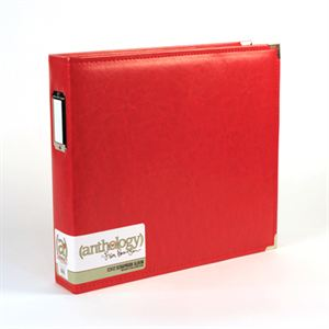 Picture of *50% OFF* Anthology 12 x 12 Album - Red *SALE* WHILE SUPPLIES LAST